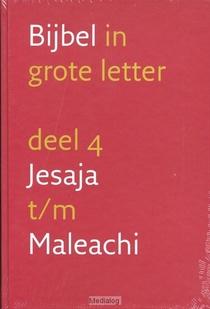 Grote Letterbijbel Nbv 4 Jesaja-maleachi