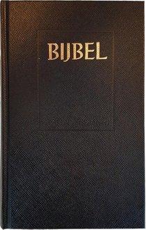 Huisbijbel 108000 Sv Zwart Kunstl Kleurs