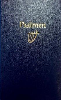 Psalmboek 212404 Ed 1773 Blauw 12g Ritm