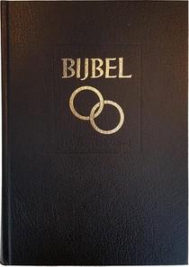 Huwelijksbijbel 108500 Sv Zwart Kunstl
