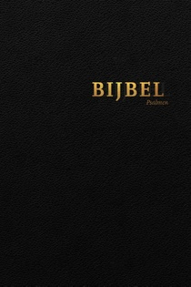Bijbel Hsv Psalmen Index Zwart 12x18cm