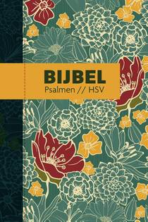 Bijbel Hsv Psalmen Bloemen 12x18cm