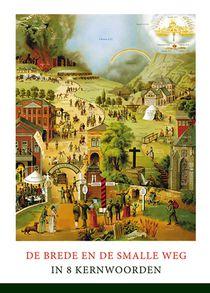 Poster A4 Brede En De Smalle Weg