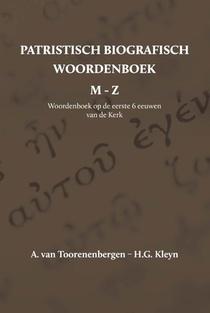 Patristisch Biografisch Woordenboek