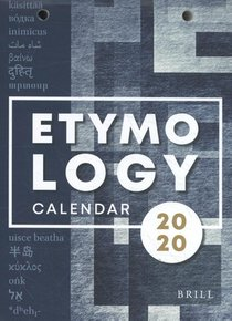 Etymological Calendar 2020