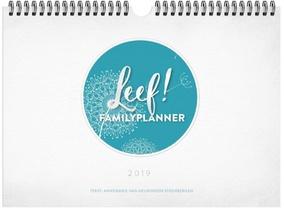 Leef! Familyplanner 2019