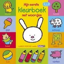 Mijn eerste kleurboek met woordjes 1-3 jaar