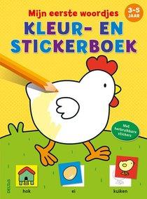 Mijn eerste woordjes kleur- en stickerboek (3-5 j.)