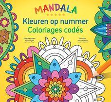 Mandala Magic - Kleuren op nummer / Mandala Magic - Coloriages codés
