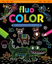 Fluo Color kleurblok / Fluo Color bloc de coloriage