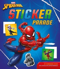 Marvel Spider-man Sticker Parade