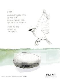 Plint 10 poëziekaarten 'Steen' Iris Le Rütte en Maartje van den Noort