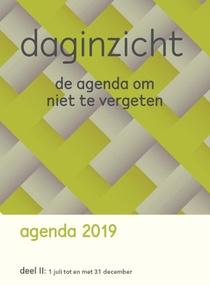 Daginzicht agenda 2019 Deel II