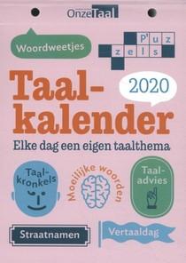 Taalkalender Onze Taal 2020