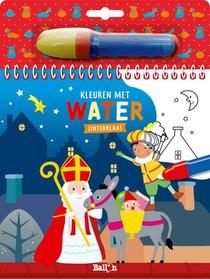 Kleuren met water - Sinterklaas