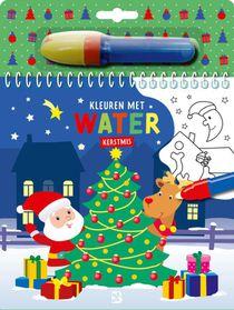 Kleuren met water - Kerstmis