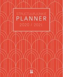 Structuurjunkie planner 2020/2021 (groot)