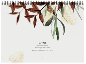 Vrolijk Familieplanner 2020