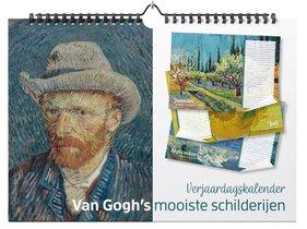 Verjaardagskalender Van Gogh's mooiste schilderijen