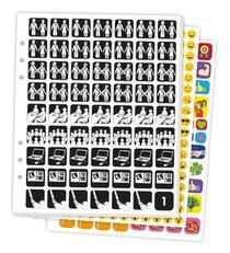 Pictogenda Stickervellen met pictogrammen 2020