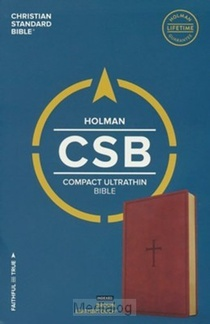 Csb Compact Ultrathin Bible Index