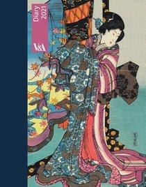 V&a desk diary 2021: kimono