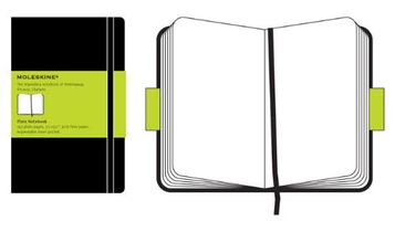 Moleskine Pocket Plain Notebook/Carnet a pages blanches