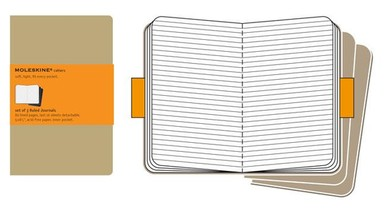 Moleskine Ruled Cahier L