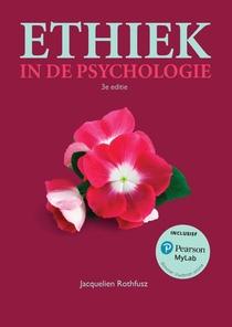 Ethiek in de psychologie, 3e editie met MyLab NL toegangscode