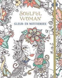 Soulful woman kleur- en notitieboek