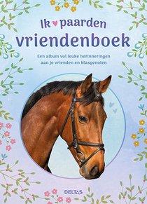 Ik hou van paarden vriendenboek