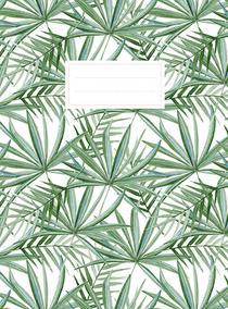 Leaves schrift (lijnen) / Cahier feuilles (ligné)