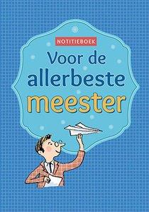 Notitieboek - Voor de allerbeste meester