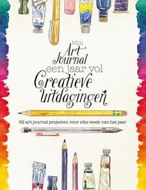 Mijn art journal een jaar vol creatieve uitdagingen