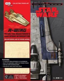 A-wing Deluxe Boek met houtmodel