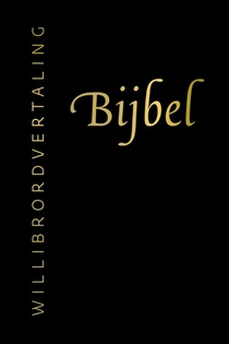 Bijbel (Willibrordvertaling) in leer met goudsnee, rits en koker (zwart)