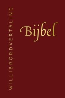 Bijbel (Willibrordvertaling) in leer met goudsnee (rood)