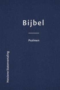 Bijbel met Psalmen luxe leer (HSV) - 8,5x12,5 cm