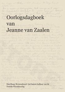 Oorlogsdagboek van Jeanne van Zaalen