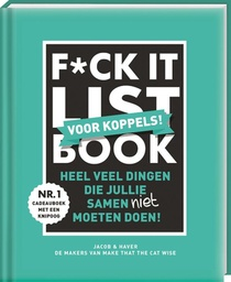 F*CK-it list book voor koppels
