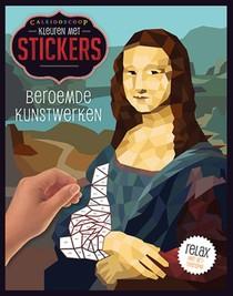 Kleuren met stickers - Beroemde kunstwerken
