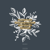 Psalm 86:10