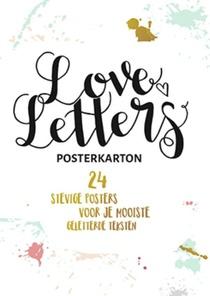 Loveletters Posterkarton Handletteren