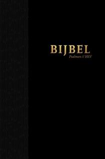 Bijbel Hsv Met Psalmen Hardcover Zwart