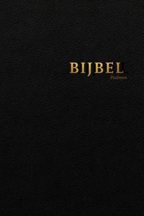 Bijbel Hsv Met Psalmen Vivella Zwart Gou