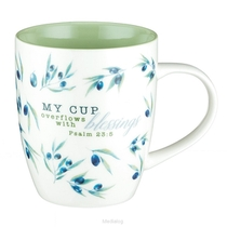 My Cup Overflows - White