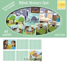 Bijbels Memoryspel Incl. Verhalenboekje