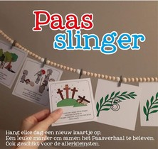 Paasslinger Incl. Kralenslinger