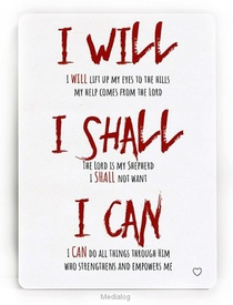 I Will, I Shal, I Can