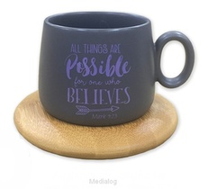 Mug With Coaster All Things Are